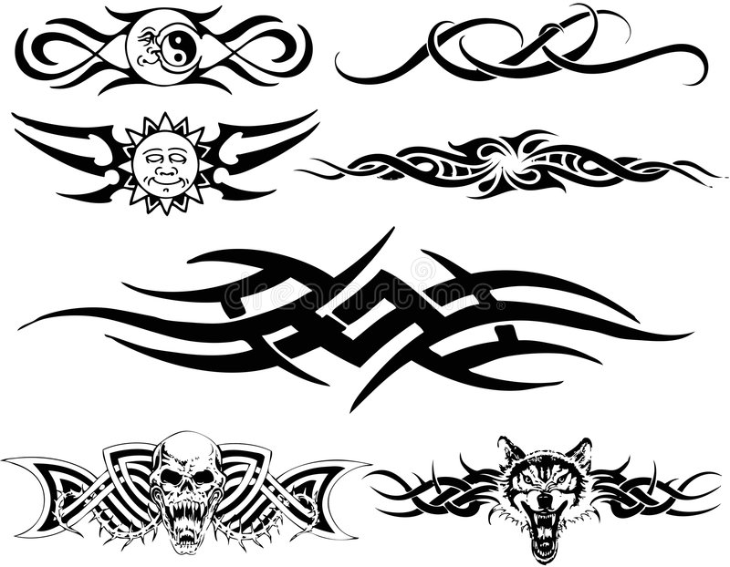 Tribal ilustração stock
