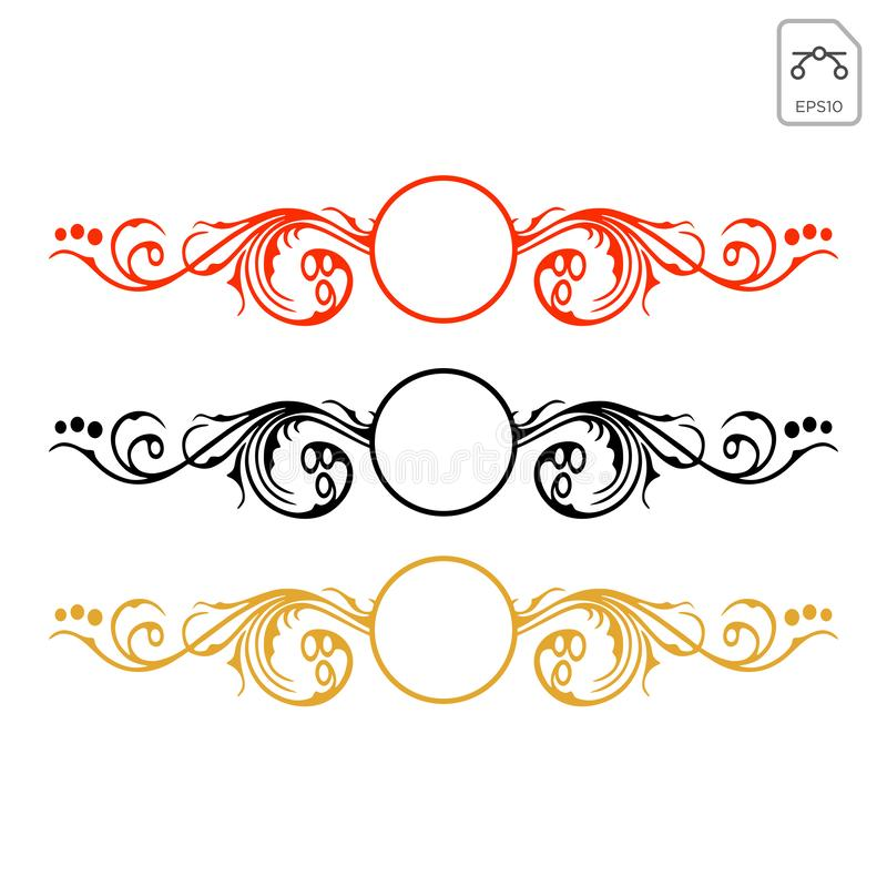 tribal abstract decals wrap for vehicle vector illustration vector illustration