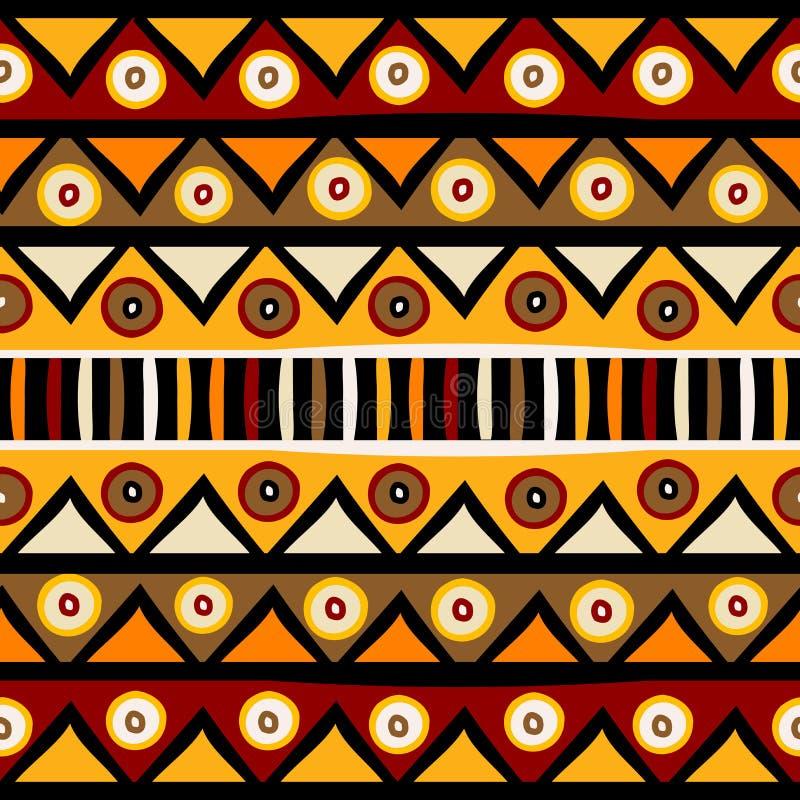 Tribal African background stock illustration. Illustration