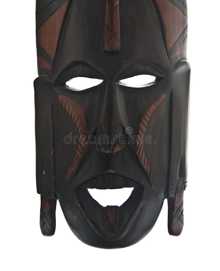 Tribal-african mask stock photo