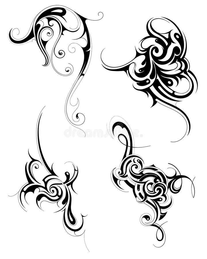 Download Tribal art set stock vector. Image of folk, graphic, illustration - 37779154
