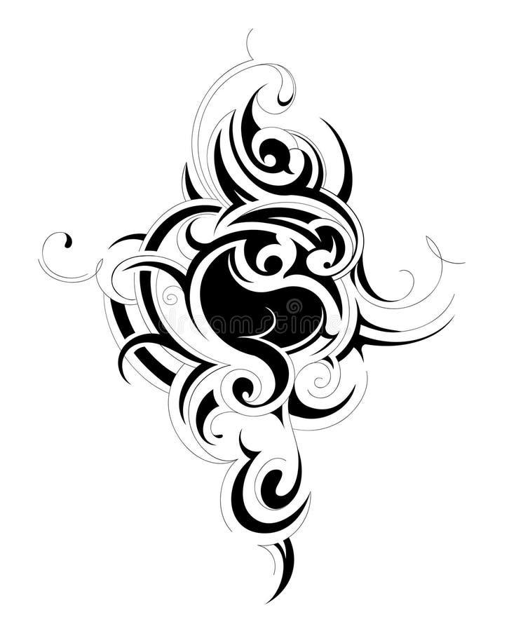 Tribal Art Tattoo Stock Images