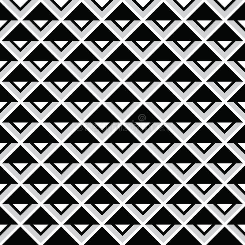 Download Tribal Aztec Abstract Squares Seamless Pattern Stock Illustration - Image: 35194989