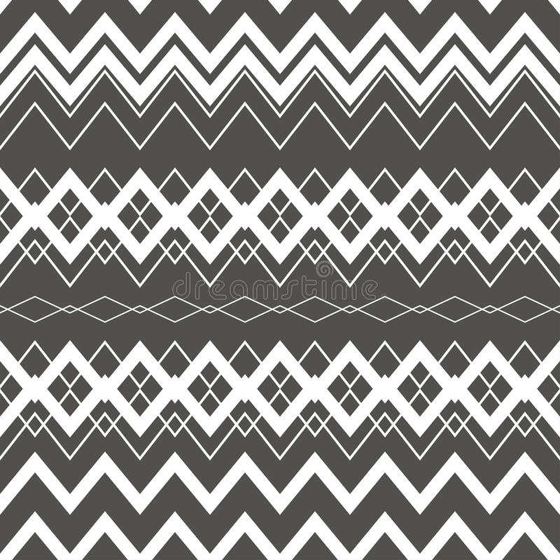 Download Tribal Boho Seamless Pattern Ethnic Geometric Ornament Stock Vector