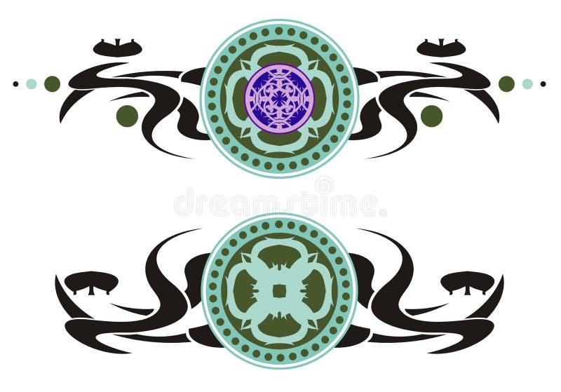 Tribal Circles Royalty Free Stock Images
