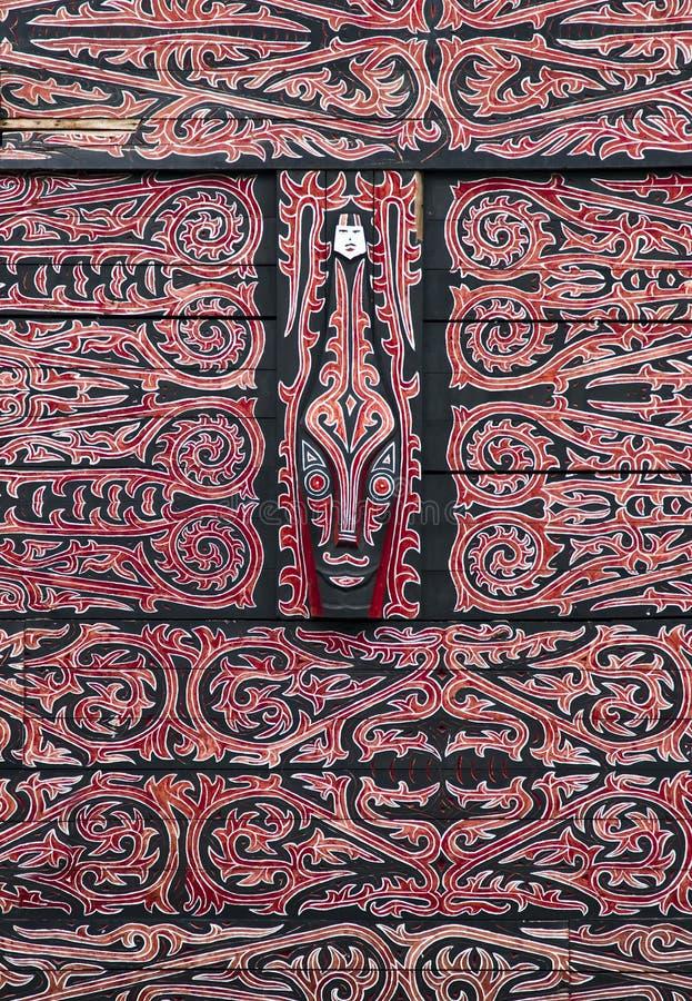 Tribal dayak art pattern royalty free stock photography