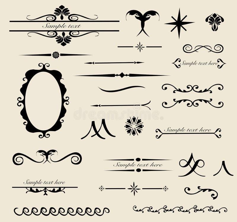 Tribal design set vector illustration