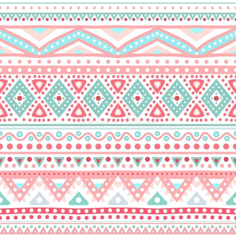 Free Tribal Ethnic Seamless Stripe Pattern. Vector Stock Photo - 36931040