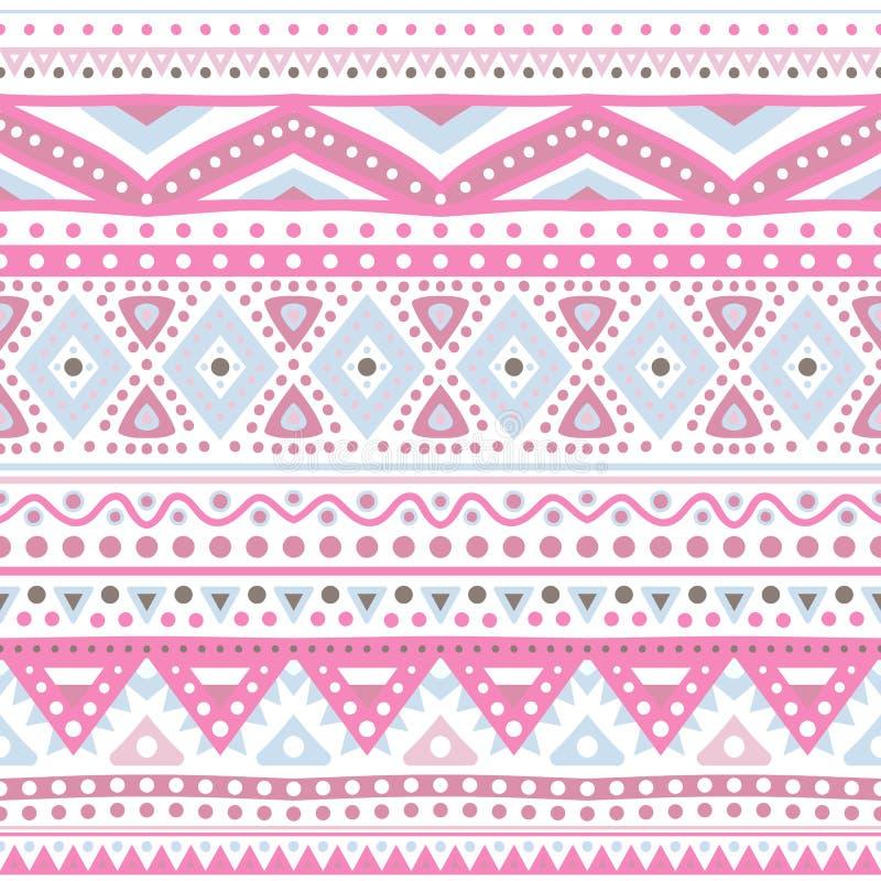 Tribal ethnic seamless stripe pattern. Vector illustration vector illustration