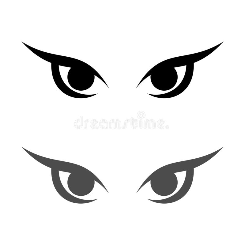 Tribal Eye Stock Illustration. Illustration Of Black