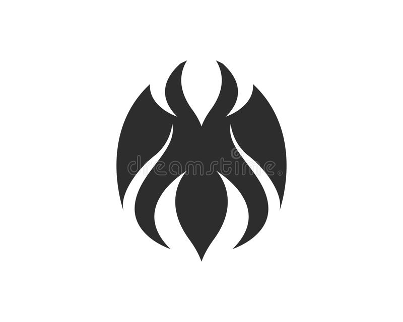 Tribal Fire flame nature logo and symbols icons template vector illustration