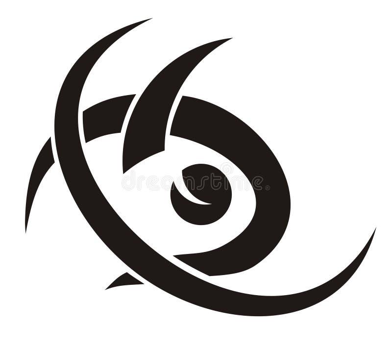 Tribal fish symbol