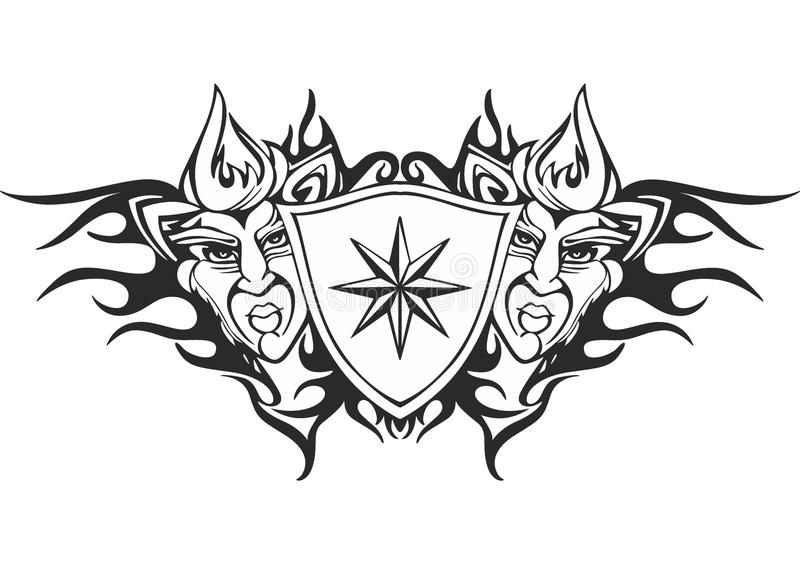 Cool Tribal Tattoo Template Gallery  Examples Professional Resume