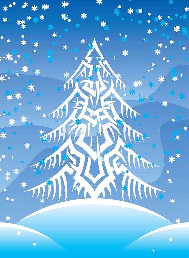Download Tribal fur-tree stock vector. Image of season, christmas - 3492598