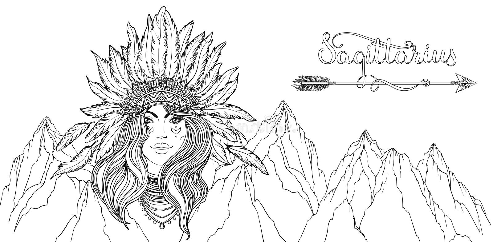 Indian Native Coloring Stock Illustrations 4 340 Indian Native Coloring Stock Illustrations Vectors Clipart Dreamstime