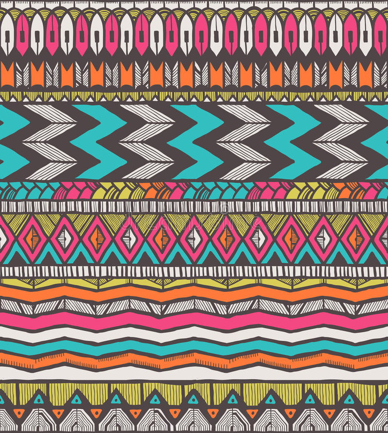 Download Tribal  pattern stock illustration. Illustration of backdrop - 35581017