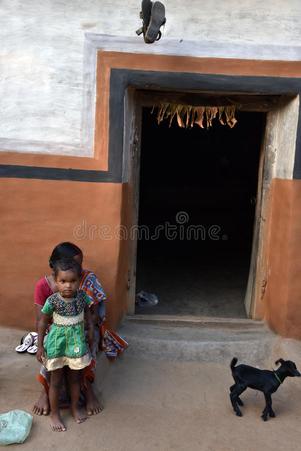 Tribal Poverty in India. There are approximately 1 billion people living in India; about two thirds of the people live in rural areas of the country. India has a royalty free stock photos