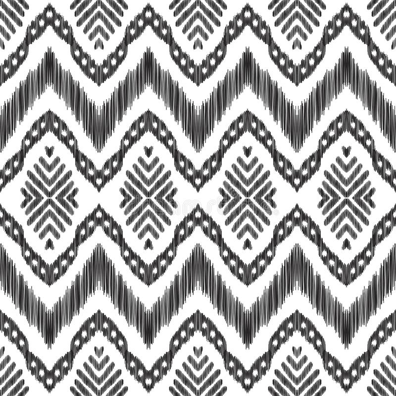 Tribal seamless background. stock photography