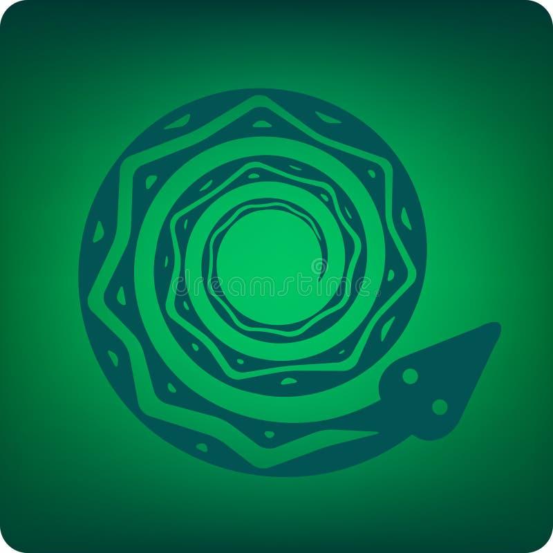 Download Tribal snake stock vector. Illustration of skin, danger - 5581273