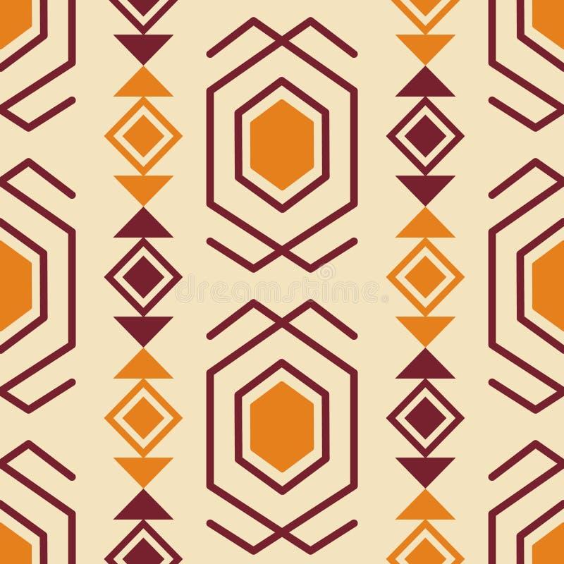 Free Tribal Southwestern Native American Navajo Seamless Pattern Stock Images - 161479514