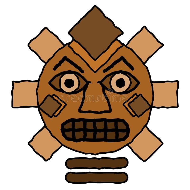 Tribal Totem Design royalty free stock photos