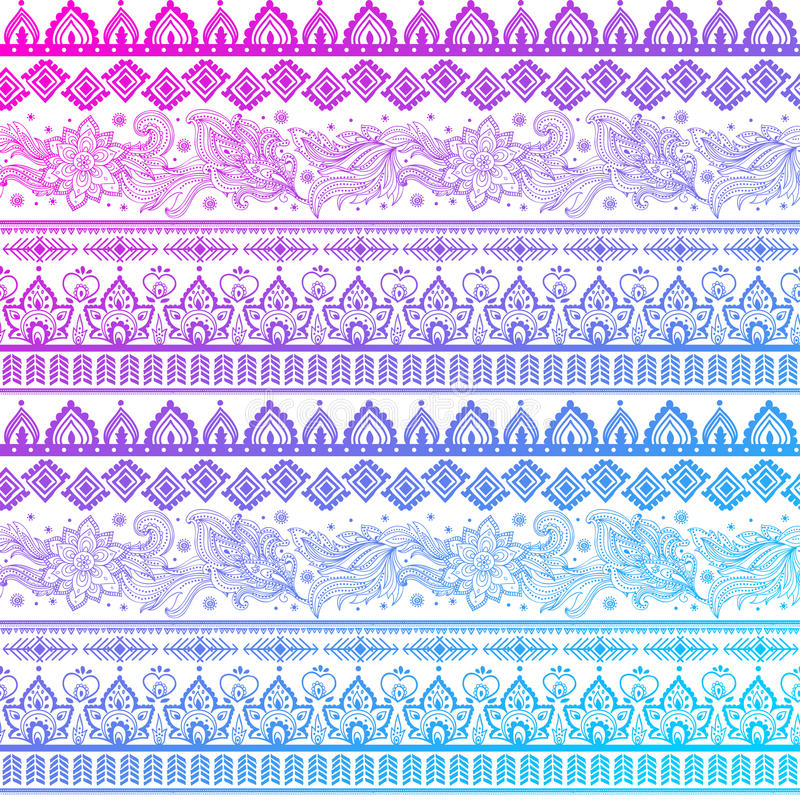 Download Tribal Vintage Ethnic Pattern Seamless Royalty Free Stock Photography - Image: 34508677