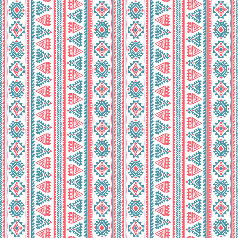Download Tribal Vintage Ethnic Pattern Seamless Stock Vector - Image: 35210428
