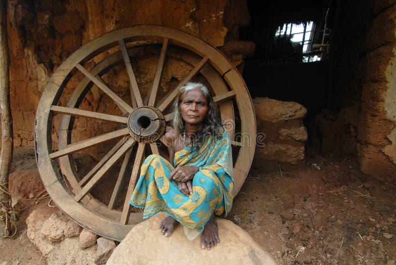 Tribal Woman Editorial Photo
