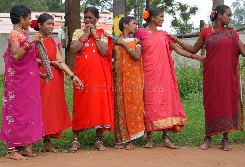 Tribal women, India royalty free stock photo