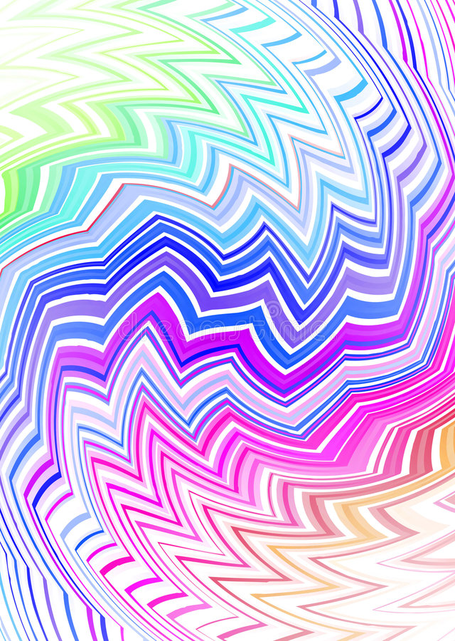 Tribal zig zag subtle vector illustration