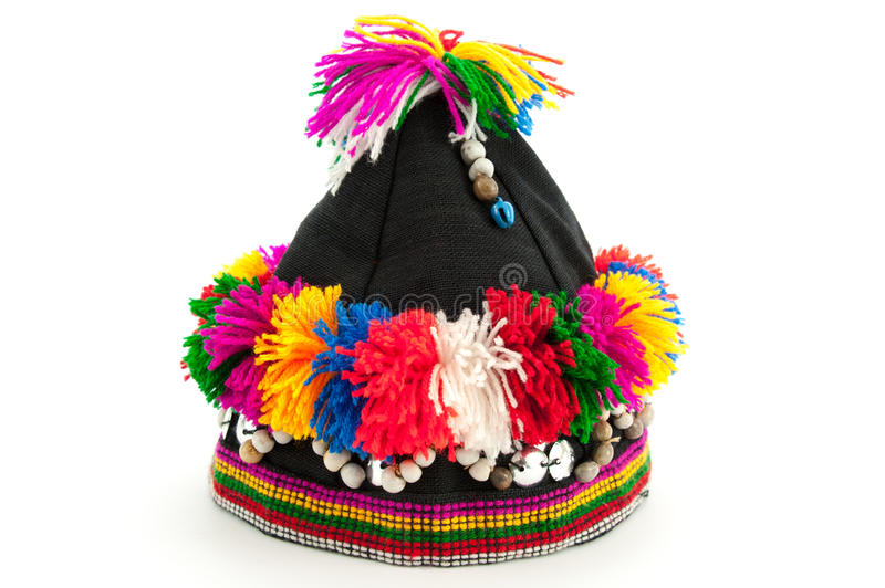 Tribe Hat. On White Background royalty free stock images