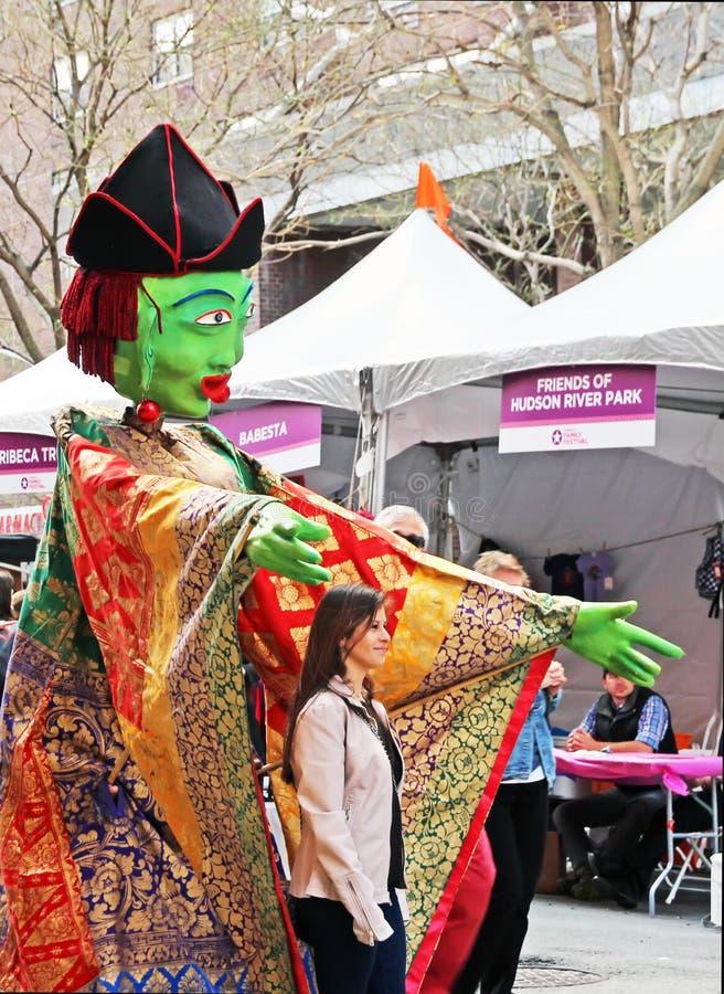 Tribeca-Familien-Festival stockbilder