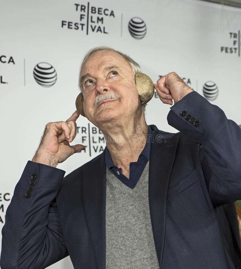 Tribeca filmfestival 2015 royaltyfria foton