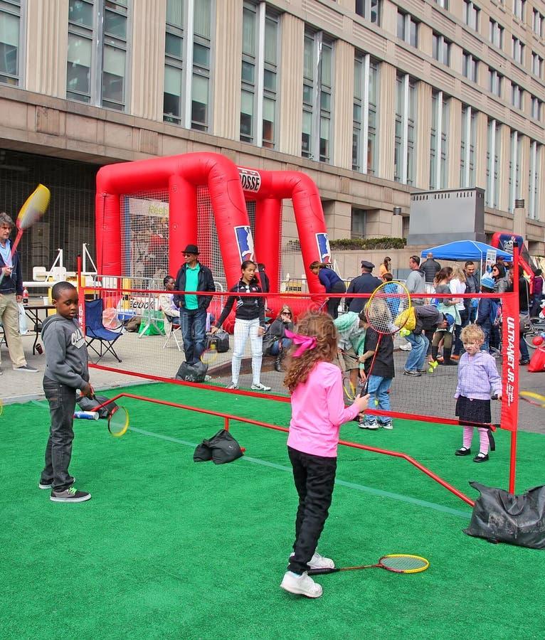 Tribeca rodziny festiwal fotografia royalty free