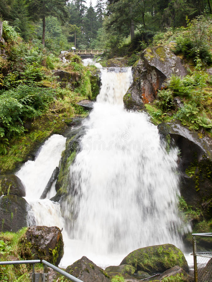 Download Triberg Waterfall In Black Forest Stock Image - Image of forest, germany: 43579659