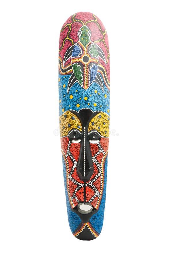 Tribo do africano da máscara foto de stock royalty free
