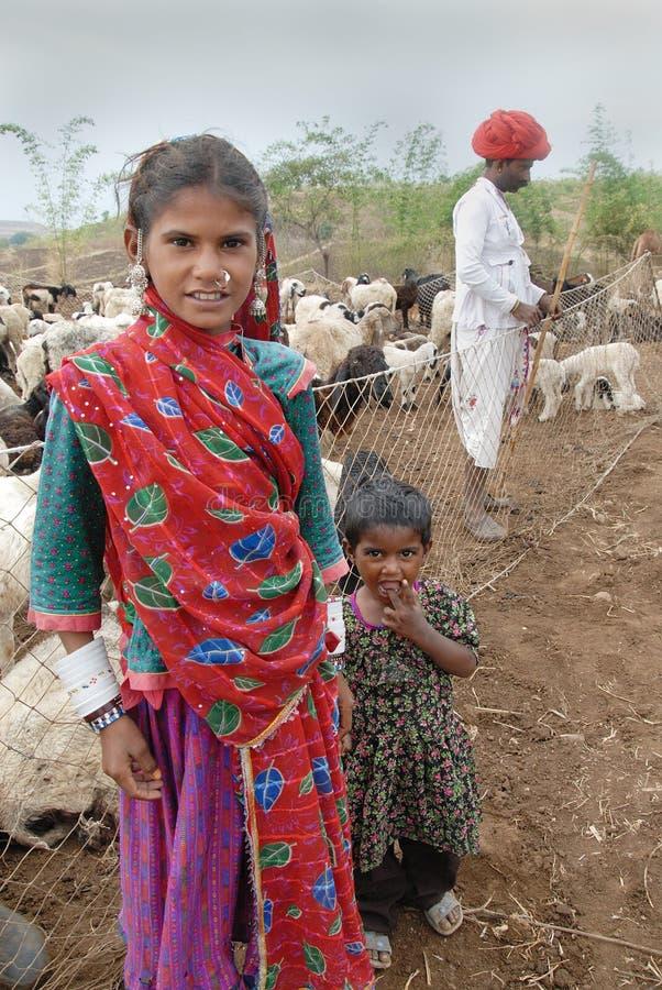 Tribos de Banjara em India imagens de stock