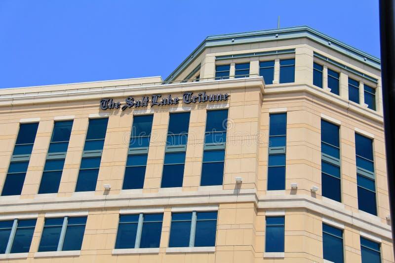 Tribuna de Salt Lake imagens de stock royalty free