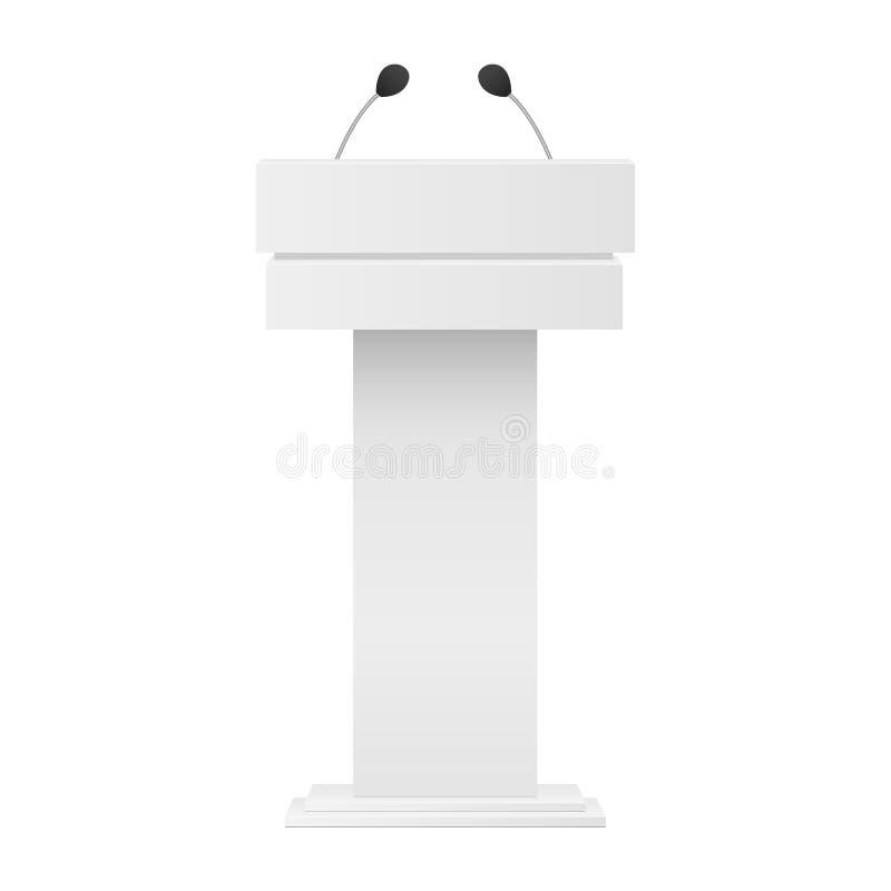 Tribuna del podio royalty illustrazione gratis