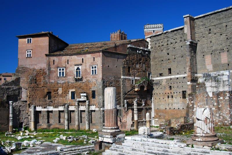 Tribuna di Augustus a Roma (Italia) fotografia stock