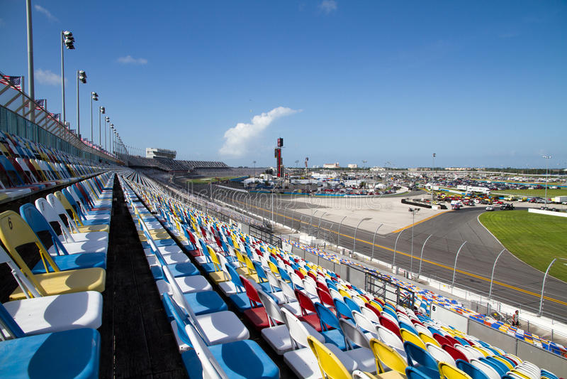 Tribuna di Daytona fotografie stock