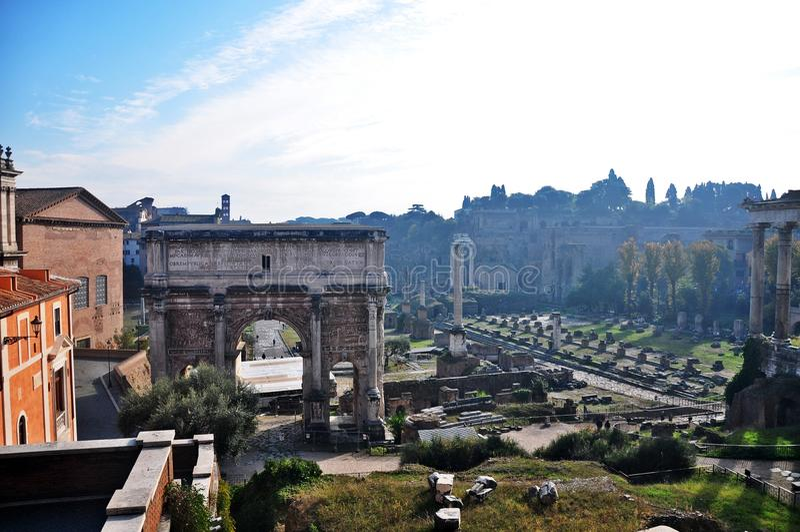 Tribuna di Roma immagine stock libera da diritti
