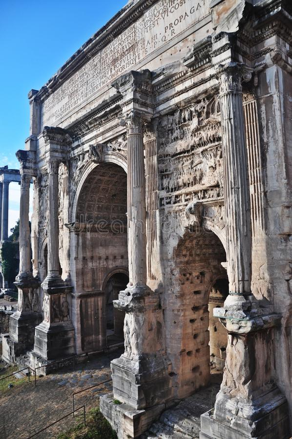 Tribuna di Roma immagini stock libere da diritti