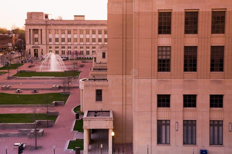 Tribunal à Lexington image libre de droits