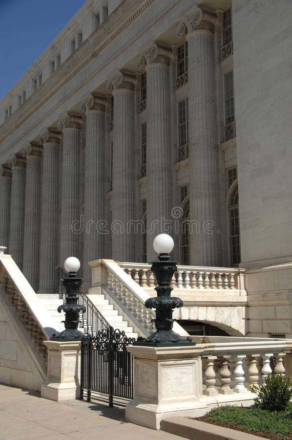 Tribunal 1 de gouvernement photo stock