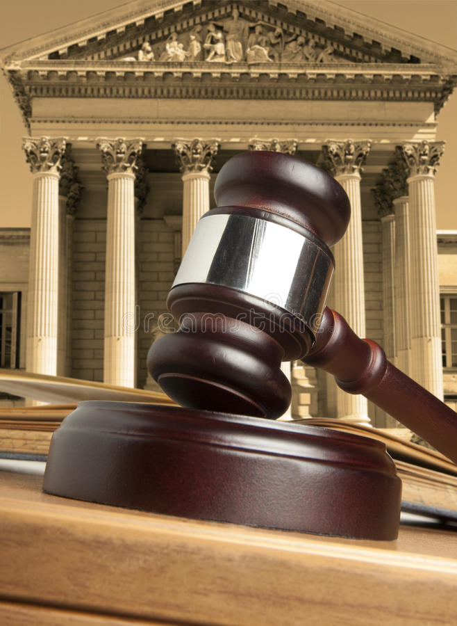 Tribunal images stock