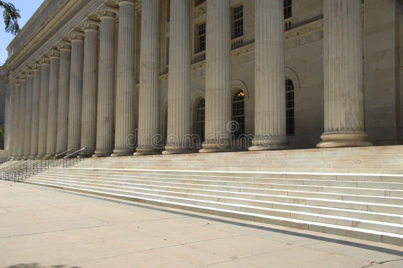 Tribunal 8 do governo fotografia de stock