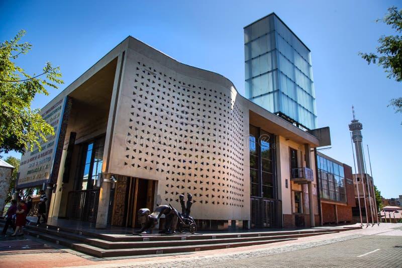 Tribunal Constitucional en Johannesburgo fotografía de archivo libre de regalías