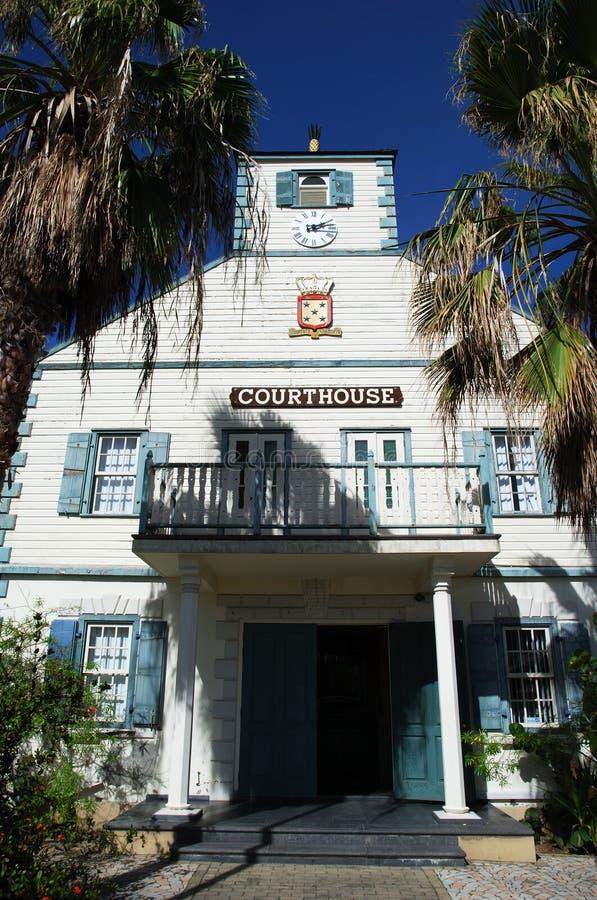 Tribunal d'île photographie stock libre de droits
