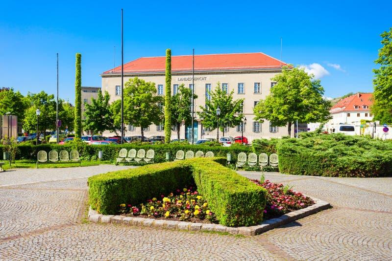 Tribunal d'arrondissement de Landesgericht, Krems images stock